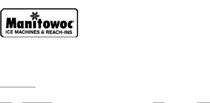 Manitowoc Ice Machine Wiring Diagram