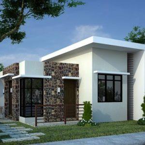 108 Gambar Rumah Sederhana Atap Asbes Terbaik