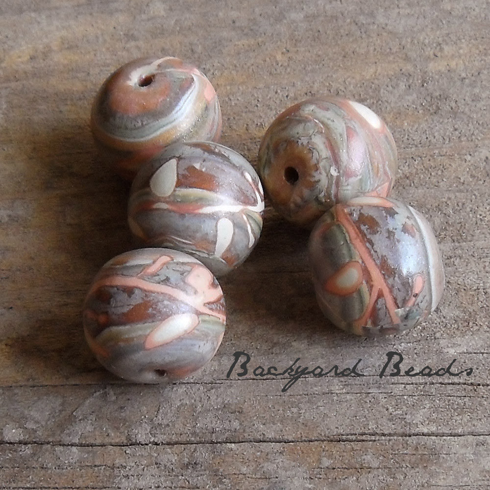 rustic beads