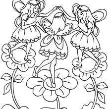 Coloriages Coloriage Grands Elfes Gratuit à Imprimer Frhellokidscom