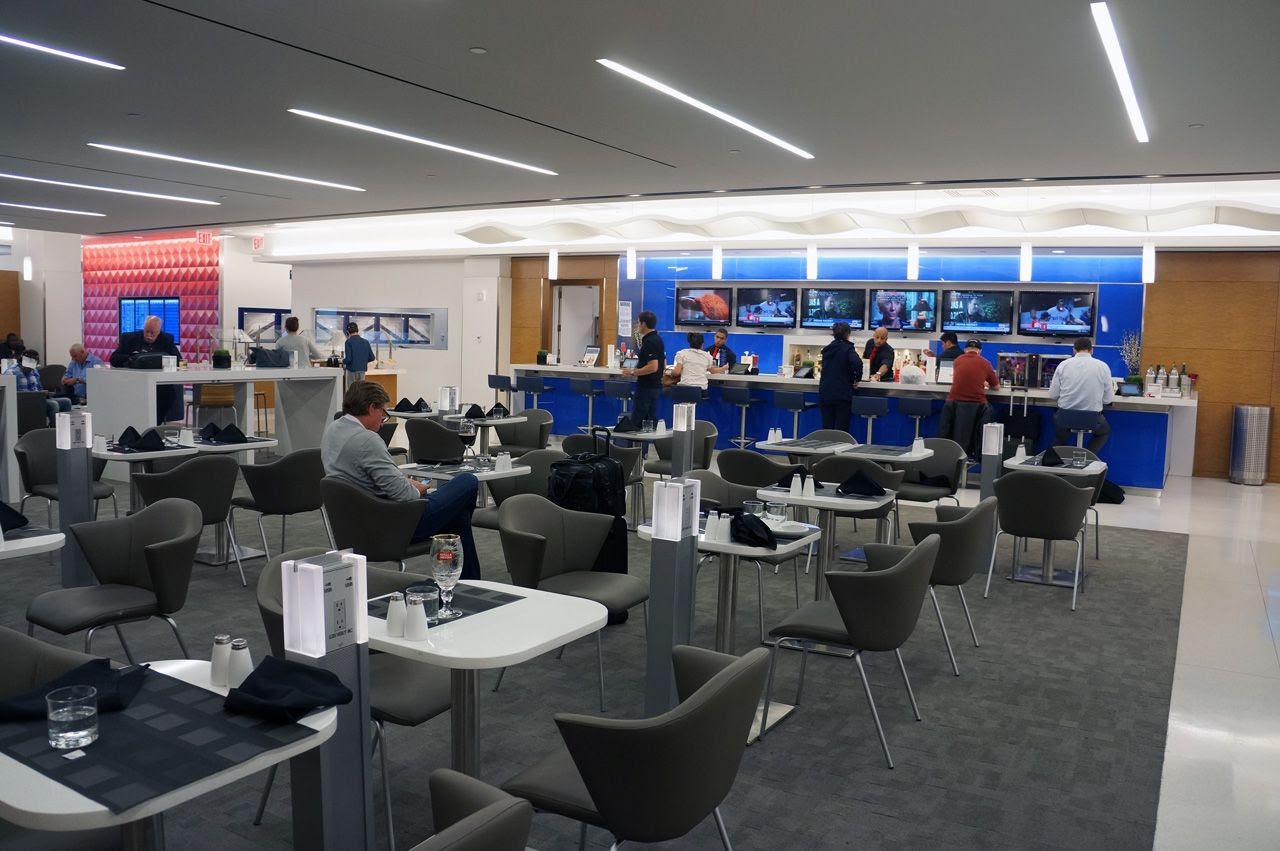 JFK Delta Sky Lounge