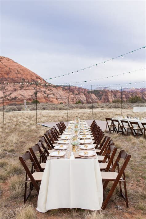 Zion National Park Wedding   Rustic Wedding Chic