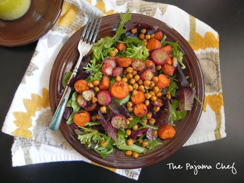 roasted-chickpea-carrot-radish-salad-with-lemon-dijon-dressing4
