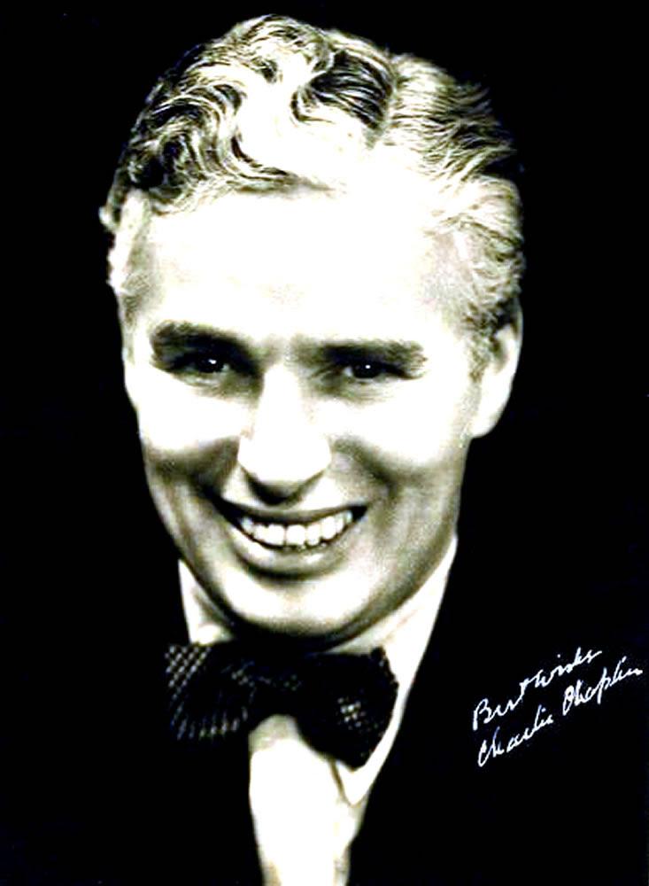 charlie chaplin. Charlie Chaplin Autograph