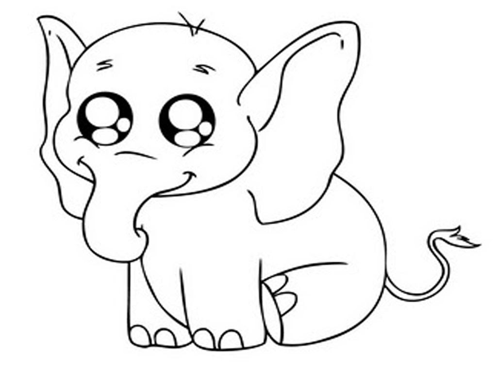 6600 Printable Animals Coloring Pages Elephant Pictures