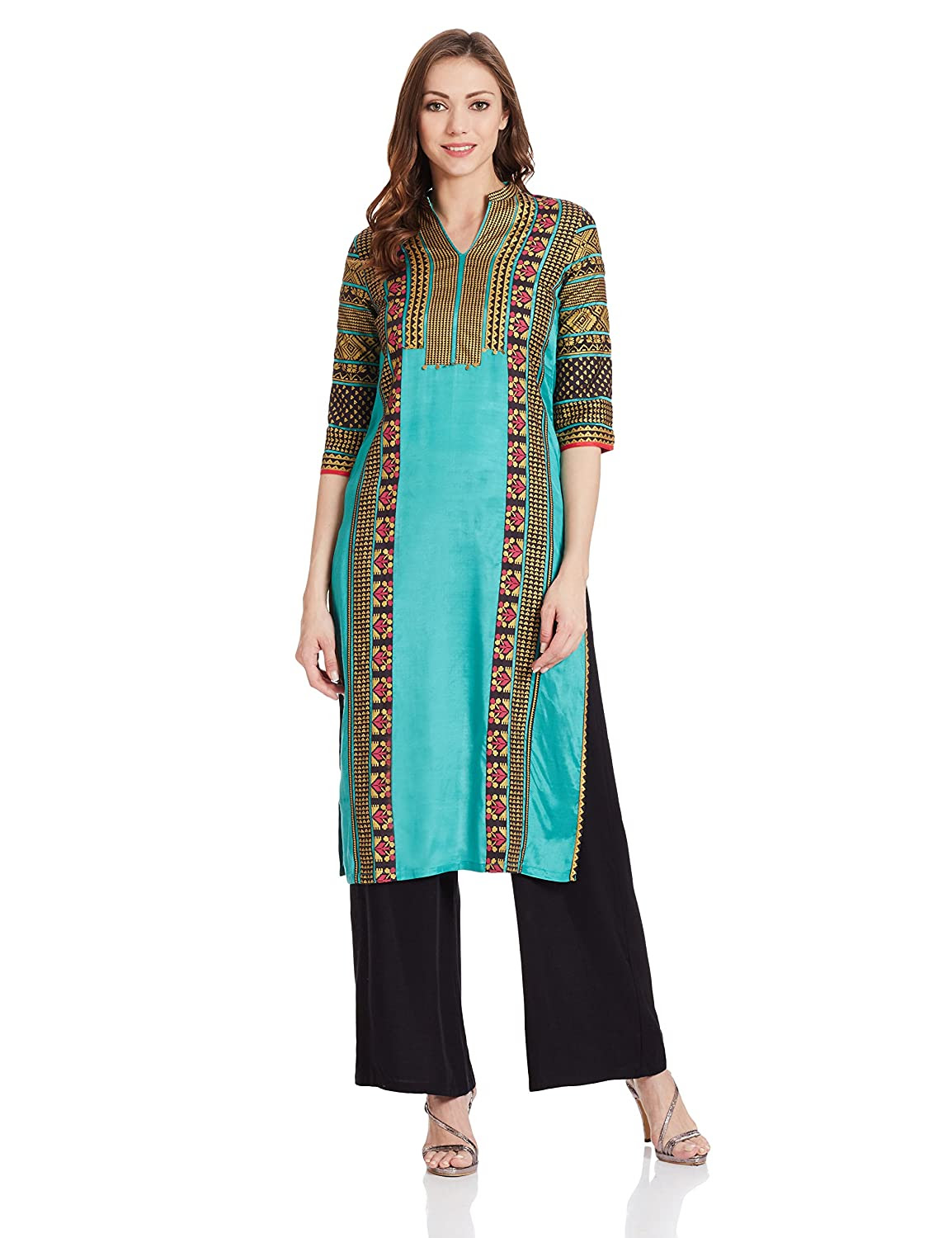 W for Woman Women's Straight Kurta