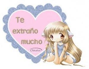 Imagen De Amor De Una Hada Con Frase Te Extrano Mucho