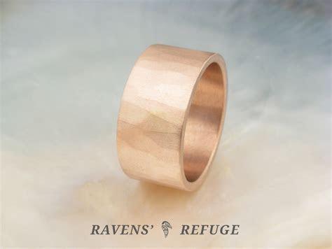 10mm wide wedding band for men or women   Ravens' Refuge