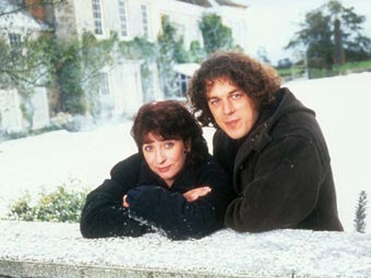 Caroline Quentin as Maddy Magellan and Alan Davies as Jonathan Creek