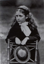 Author and illustrator Beatrix Potter as a child