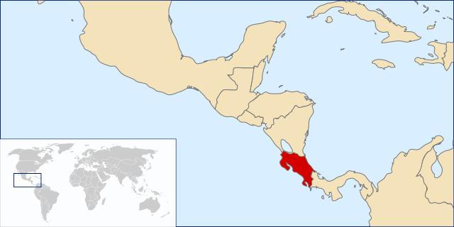 Fiche Carte Didentité Du Pays Costa Rica
