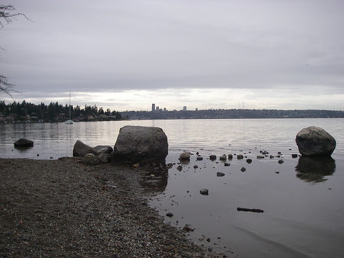 Seattle from Mercer Island