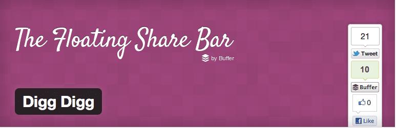 Share Bar for WordPress