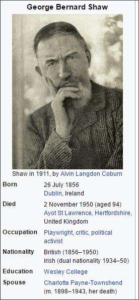 https://en.wikipedia.org/wiki/George_Bernard_Shaw