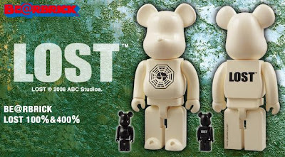 Be@rbrick Lost 100% and Dharma Swan Station 400% Figures