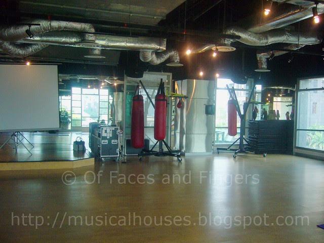 california fitness room 2