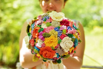 Gorgeous Crochet Bouquet IMR