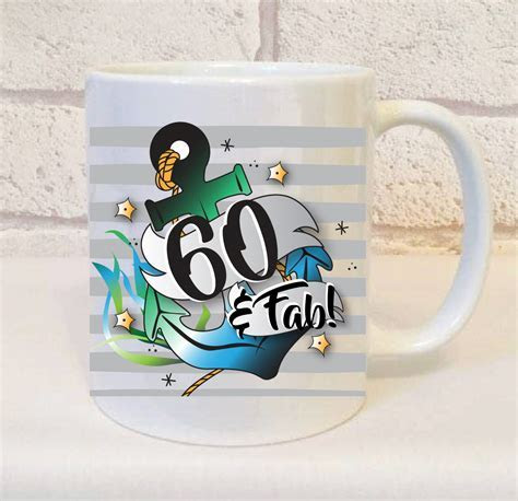 60th Birthday Mug for him   Perfect gift for someone who