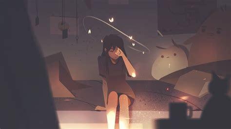 anime sad aesthetic pictures happy quote