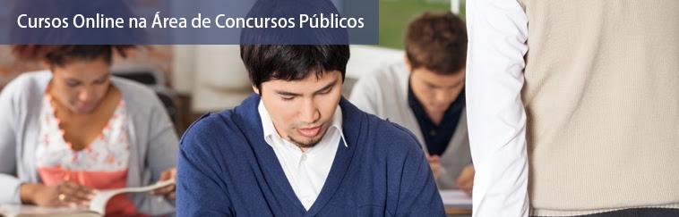 Cursos na Área de Concursos Públicos