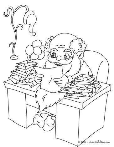 weihnachtsmann zum ausmalen und ausdrucken - malvorlagen