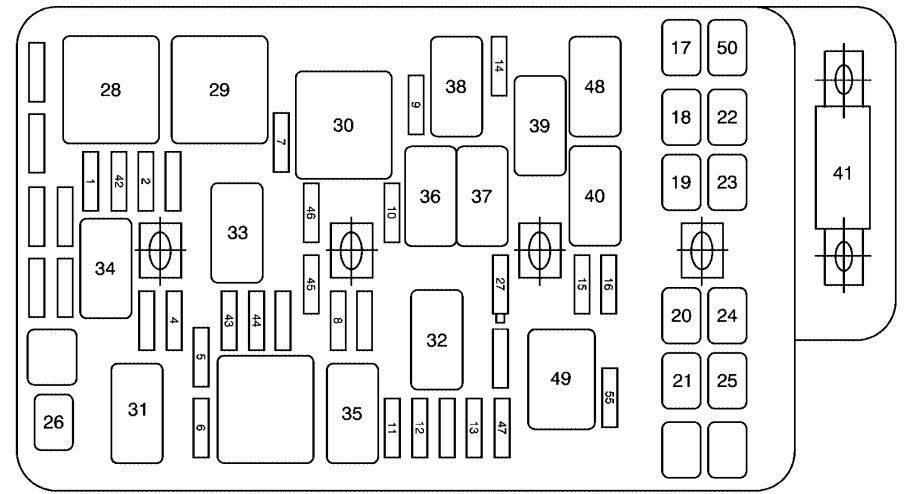 31 2008 Saturn Aura Fuse Box Diagram