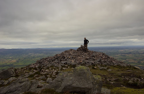 On the summit of Sugarloaf Hill