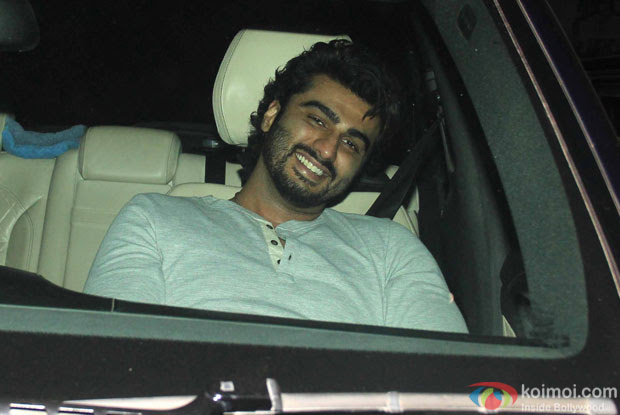 Arjun Kapoor during the Special Screening of Fan at YRF Studios