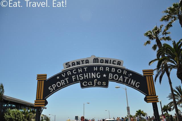 Santa Monica Pier Sign 2