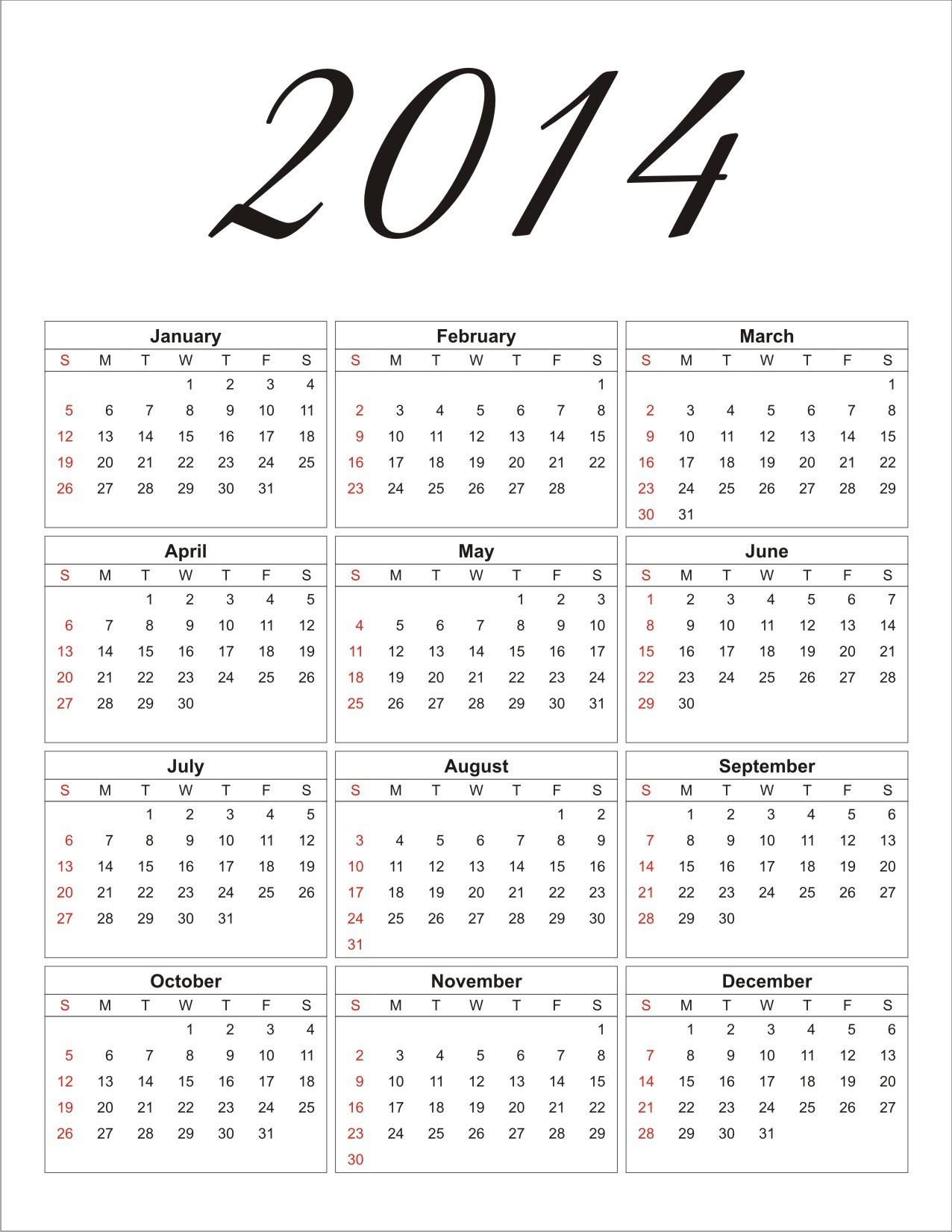 2014calendar