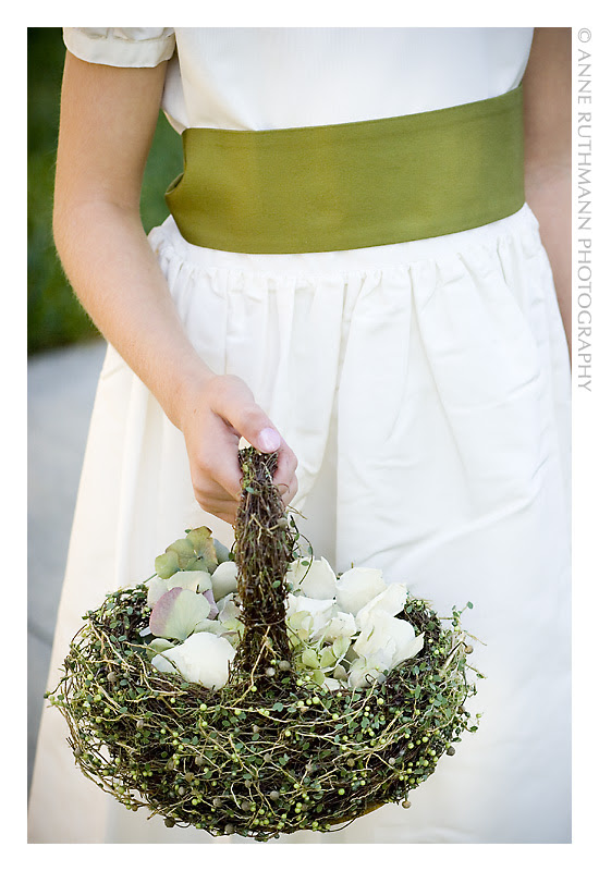 Flower Girl Petal Basket