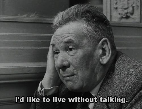 Quote Movie Quotes Talking Jean Luc Godard Vivre Sa Vie