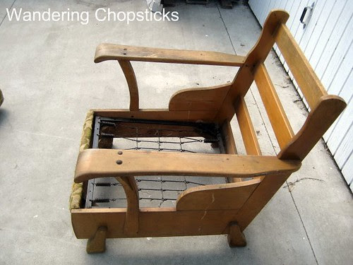 Before and After Wooden Arm Chair 4