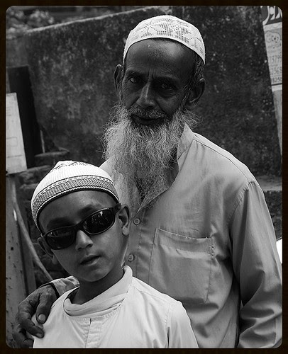 The Blind Beggar Boy of Bandra Bazar Road by firoze shakir photographerno1