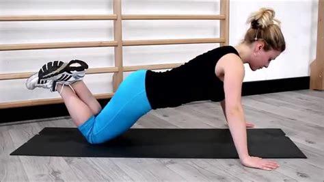 knee push ups youtube