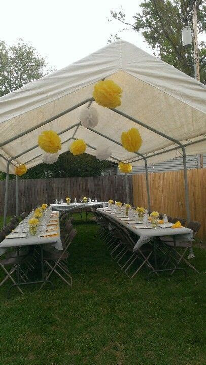 Cute for a backyard budget wedding reception   Wedding