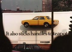 Sticky Moment - Araldite Advert Cromwell Rd 1978