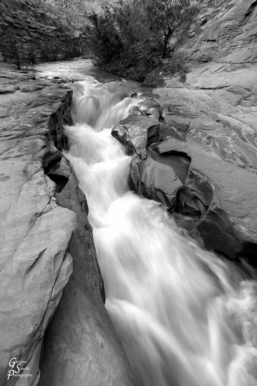 capitol reef fremont waterfall