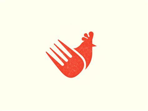 contoh logo ayam jasa desain grafis