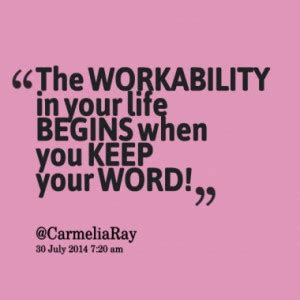 Never Keeping Your Word Quotes