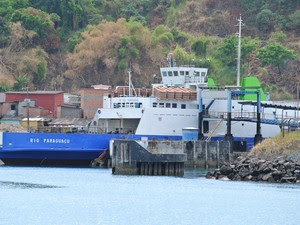 ferry boat rio paraguaçu (Foto: Ubiratan Passos/Arquivo Pessoal)
