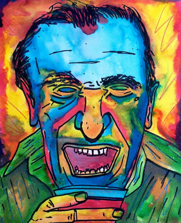 Image result for bukowski paINTING