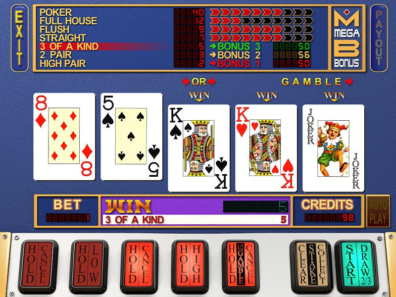 Online Slot Poker Games