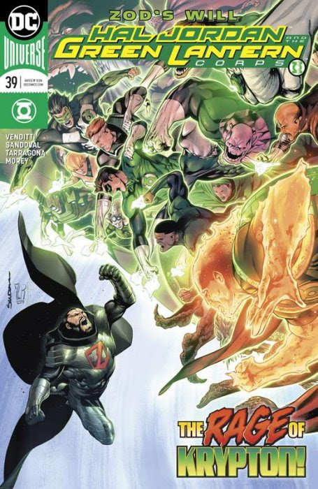 Hal Jordan and the Green Lantern Corps #39