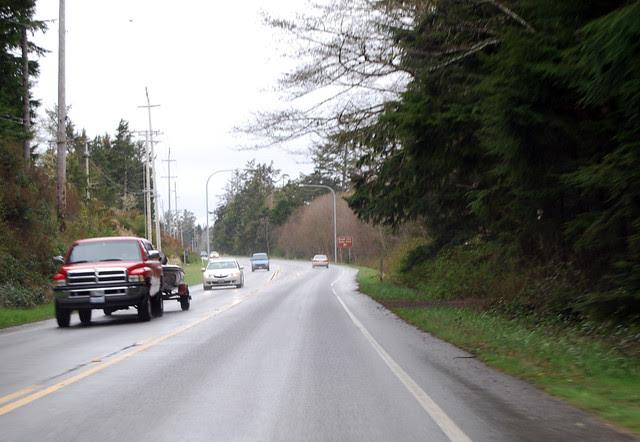 SR 115 north of Ocean Shores