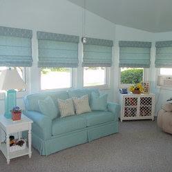 Coastal Beach Window Valance Products on Houzz