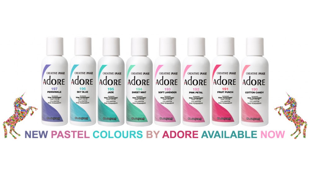 Colour Culture Buy Semi Permanent Hair Dye Adore Hair Dye Pink