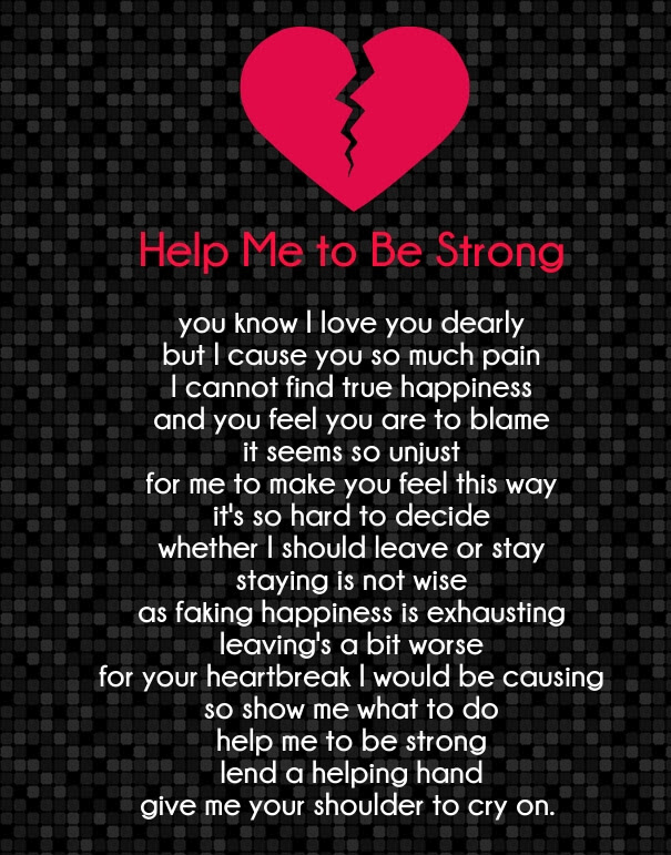 Strong Love Poems for Her and Him with Images