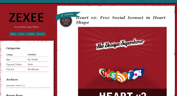 Best Left Sidebar Blogger Templates