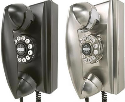 Retro Phones on Crosley 302 Retro Wall Phone   Geekalerts